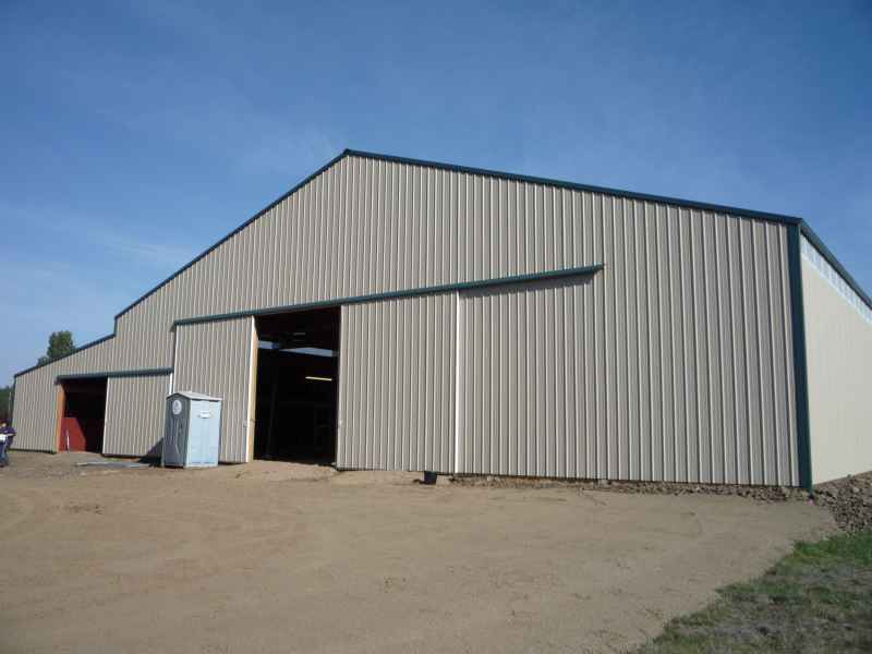 Warehouses parker buildings inc for Warehouse building design